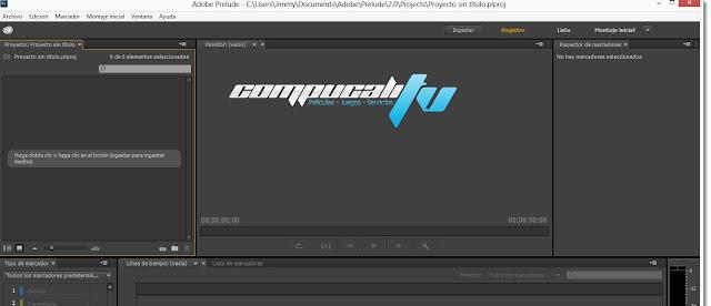 Adobe Prelude CC Versión 2.0 Español
