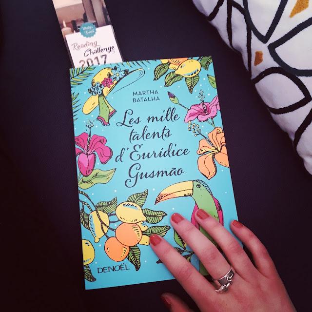 Chronique littéraire Les Mille Talents d'Eurídice Gusmão par Mally's Books