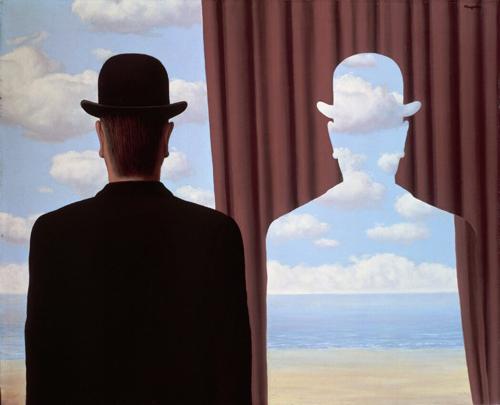 Filosofia per la vita - René Magritte, Decalcomania
