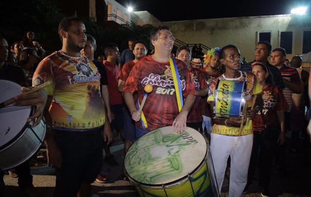 Resultado de imagem para flávio dino carnaval