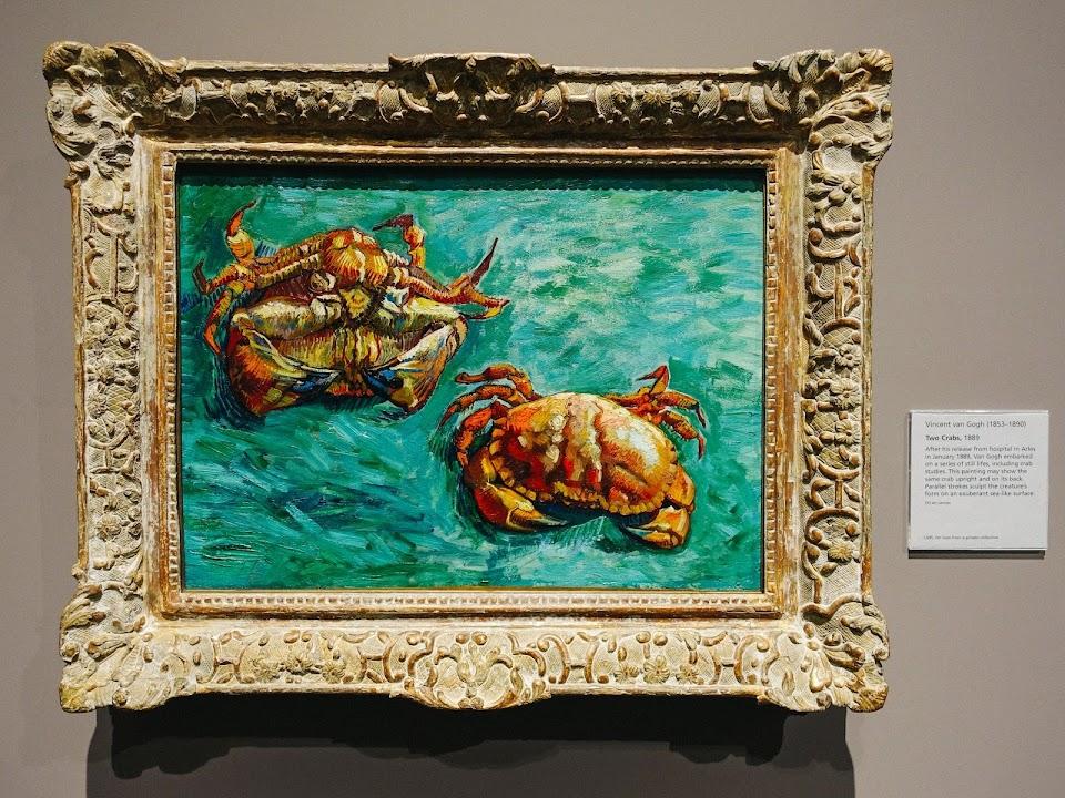 2匹の蟹(Two Crabs)1889年