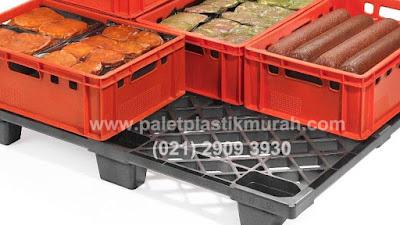 Pallet Plastik Untuk Pendistribusian Bahan Makanan