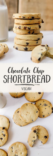 Dairy-Free Chocolate Chip Shortbread With Wallflower Kitchen