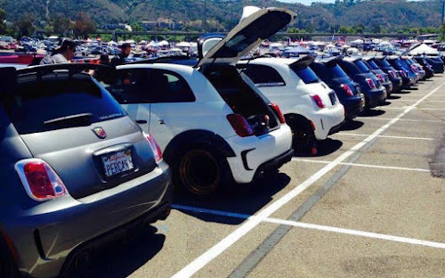 SoCal Abarth Club Car Show