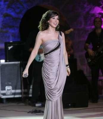 صور اناقه نانسي عجرم في حفلات عالميه 2012