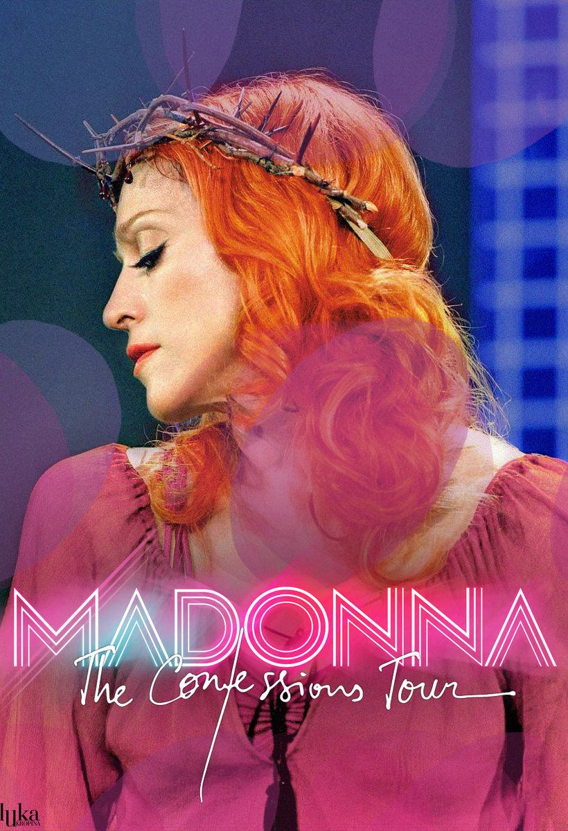 madonna confessions tour poster - photo #14