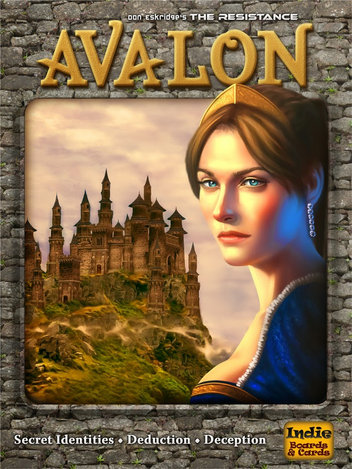 Board games: The Resistance: Avalon