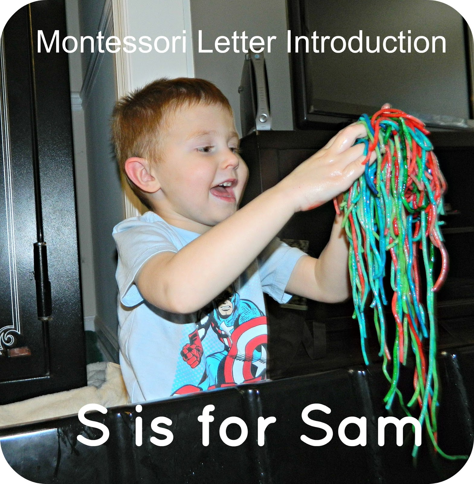 Montessori Letter Introduction: S is for Sam