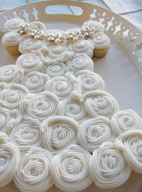Cupcake Wedding Dress Cake Recipe