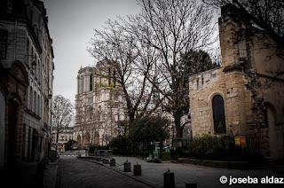 Otra vista de Notre Dame