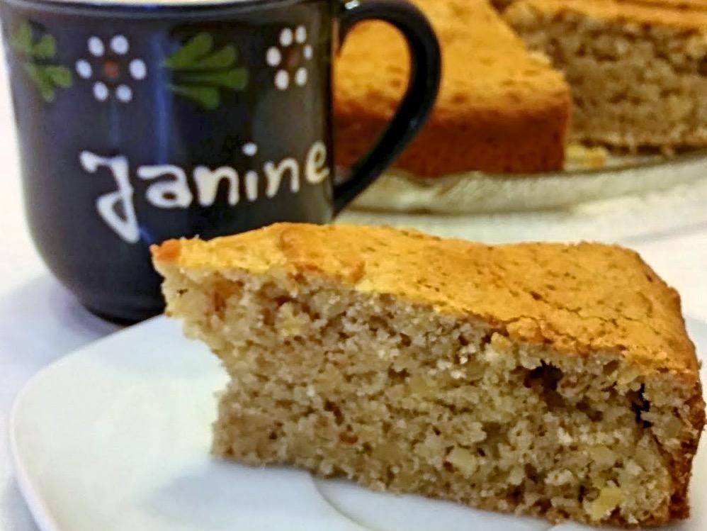 Janine S Vegane Kuche Mandel Zitronen Kuchen