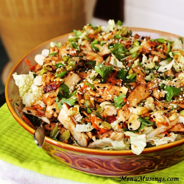 ... Musings of a Modern American Mom: Grilled Ginger-Sesame Chicken Salad