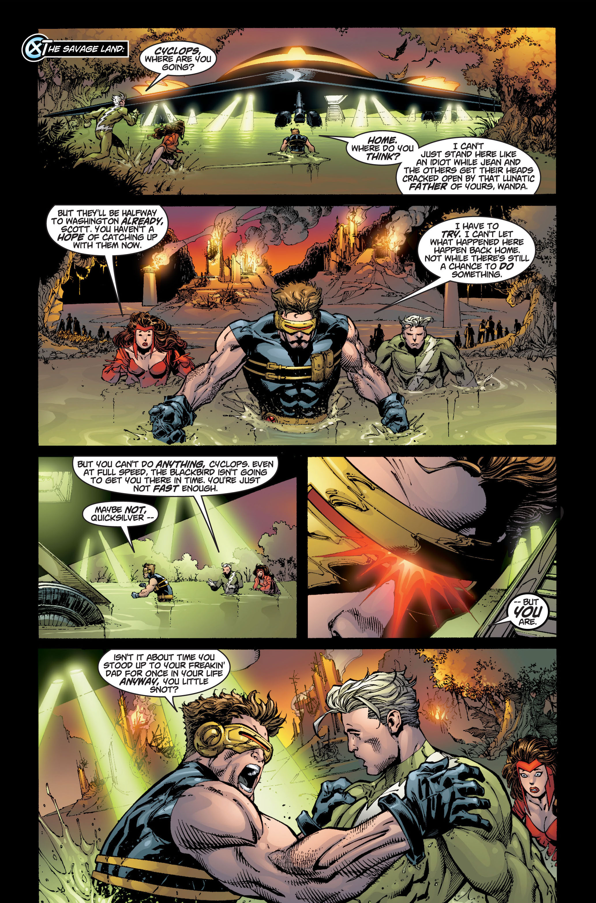 Read online Ultimate X-Men comic -  Issue #6 - 4