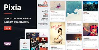 Pixia v5.4 - Showcase Wordpress Theme - Portfolio/Photography
