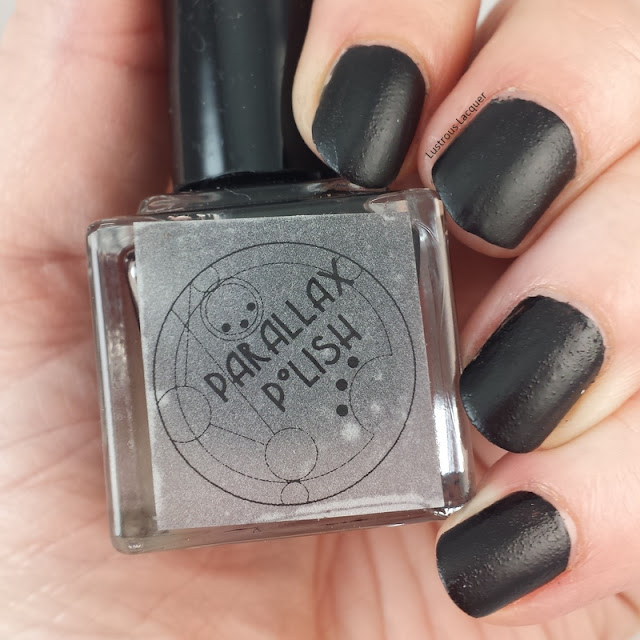 Challenger-Deep=Secrets-7-seas-collection-Parallax-polish-Black-matte-nail-polish