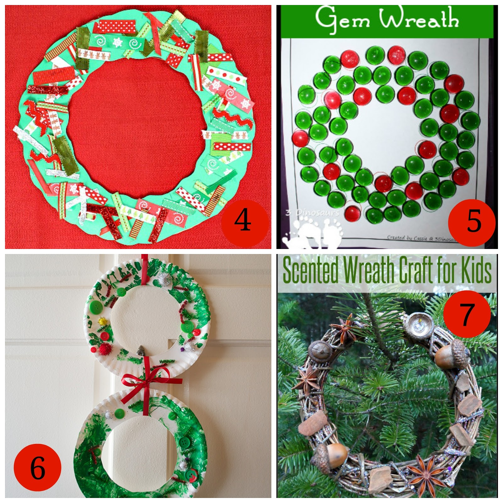 7 Wreath Crafts for Kids | Mommy Blogs @ JustMommies