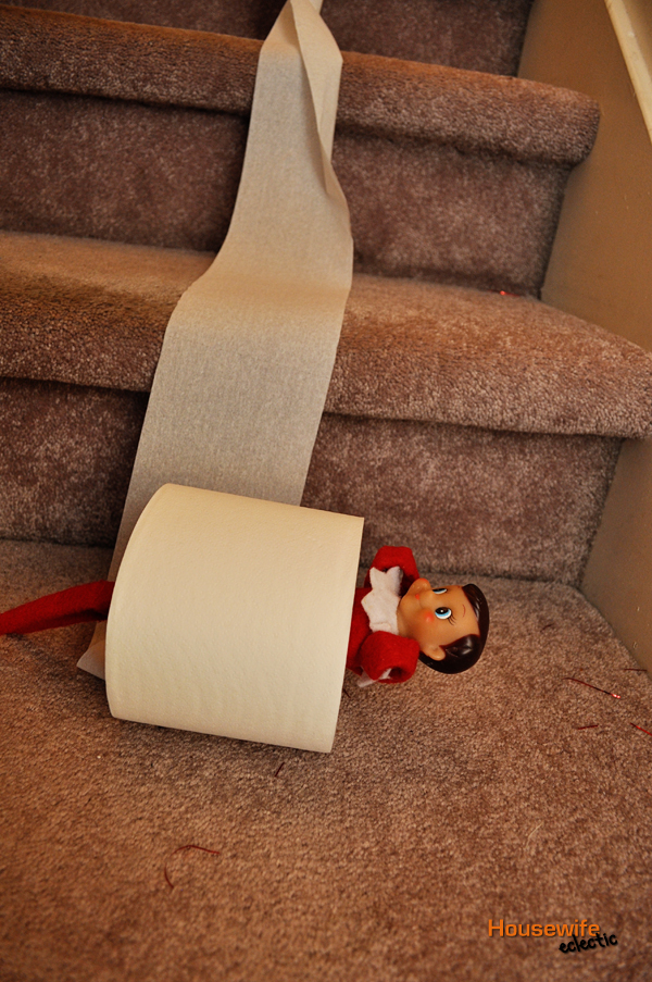 housewife eclectic our favorite elf on the shelf ideas