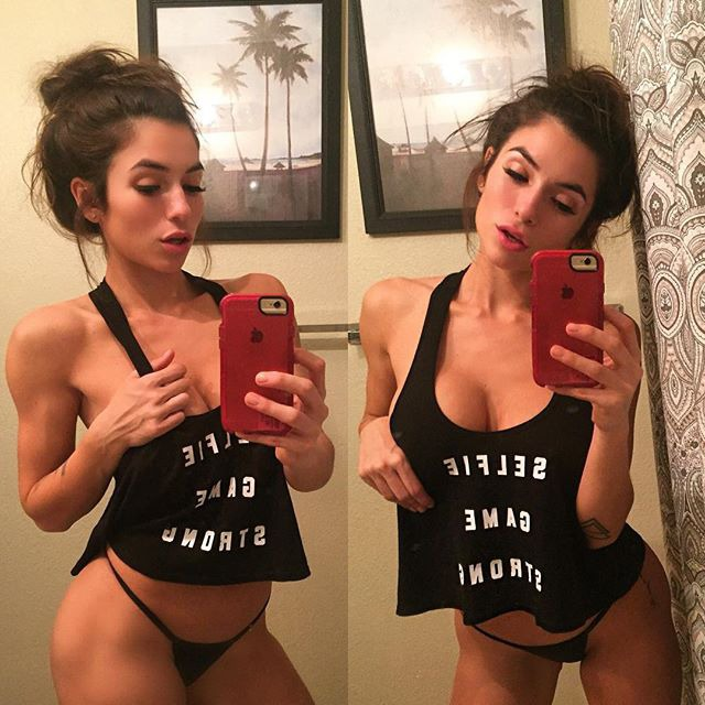Lovely Luciana del Mar at its best-The girl from Los Angeles at Instragram (photos)