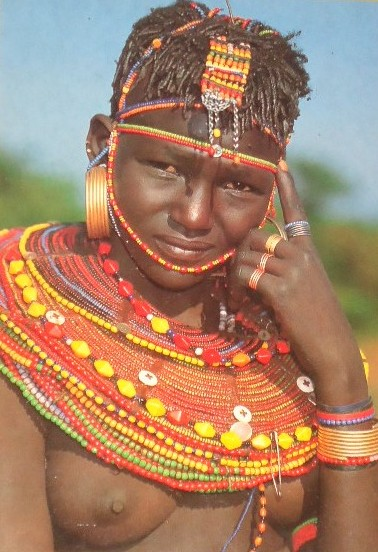 Pokot woman hair