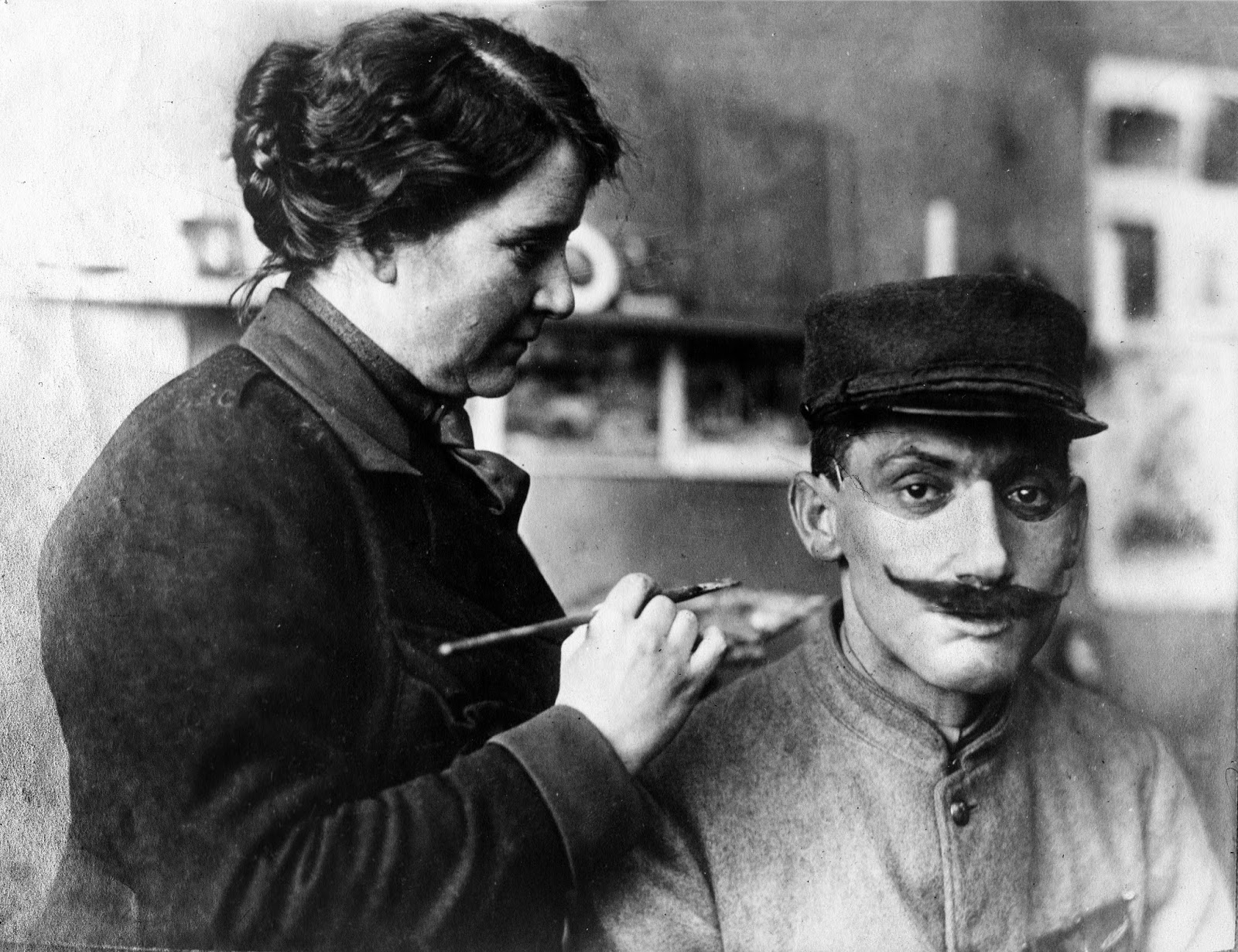 Anna Coleman Ladd : the sculptor of faces   \