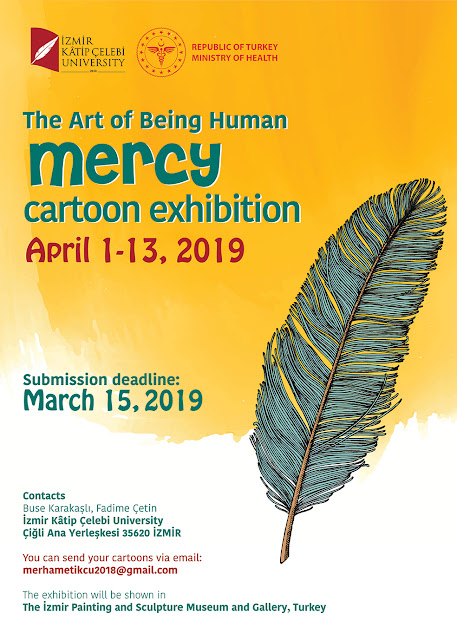 "The Art of Being Human ""MERCY"" International Cartoon Exhibition"