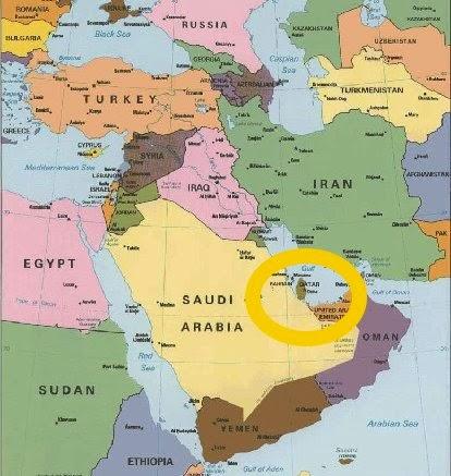 katar landkarte Katar Landkarte | jooptimmer katar landkarte