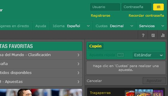 tutorial registro bet365 méxico
