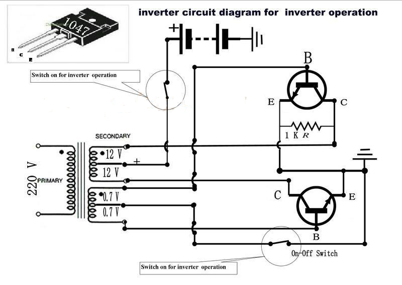 on on off switch wiring diagram inverter