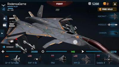 Modern Warplanes APK + Data Obb Mod (Free Shopping)