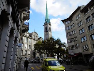 città vecchia Zurigo