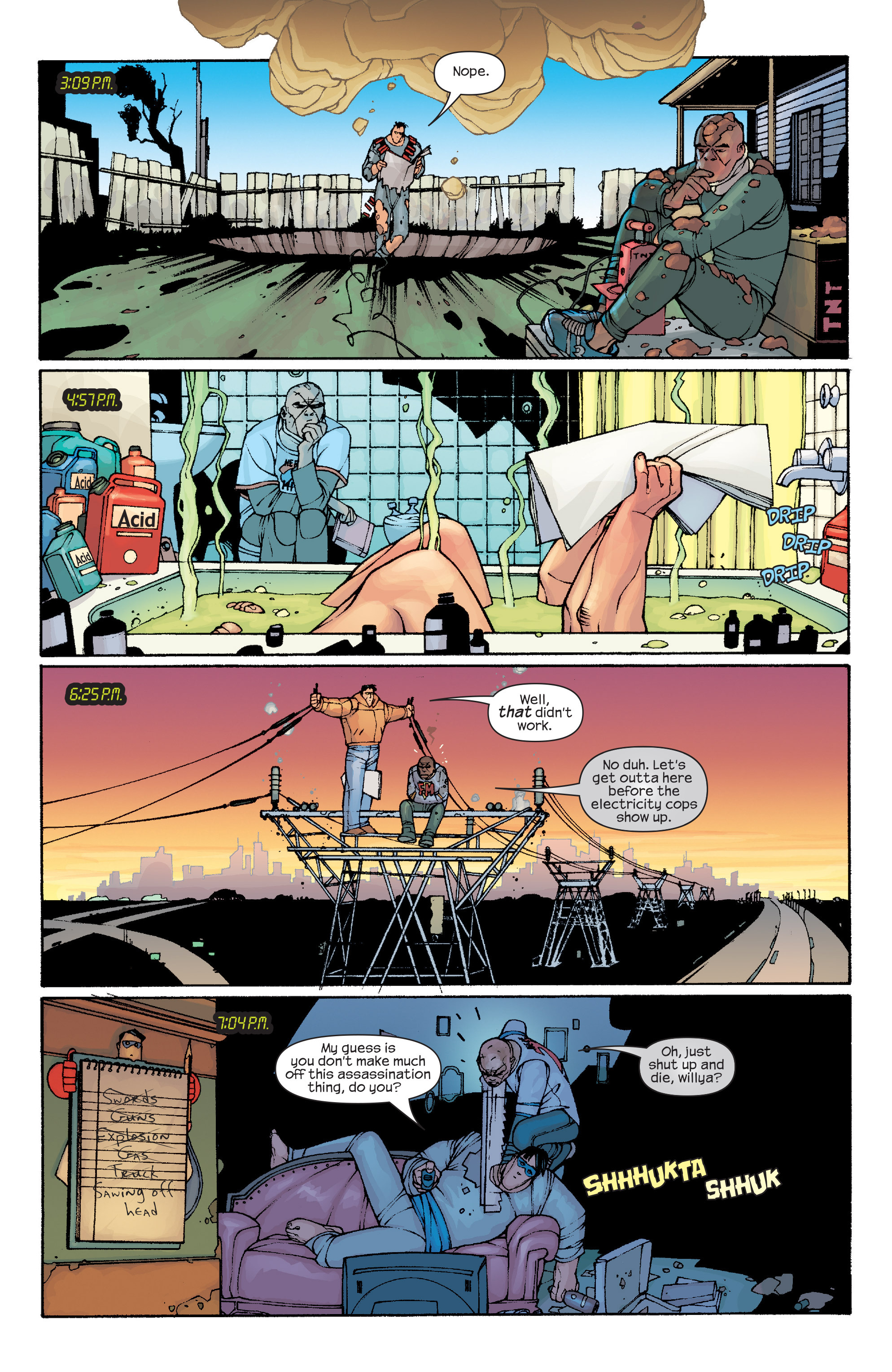 Read online Agent X comic -  Issue #10 - 18