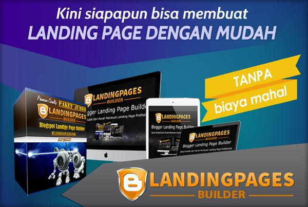 Blogger Landing Page Builder