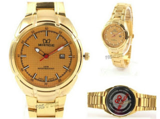 Jam Tangan Original Harga Termurah warna gold