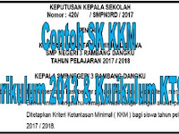 Download Contoh SK KKM Kurikulum 2013 Dan Kurikulum KTSP
