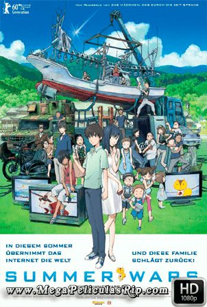 Summer Wars [1080p] [Latino-Japones] [MEGA]