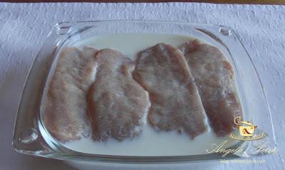 Preparare snitele de porc - etapa 2