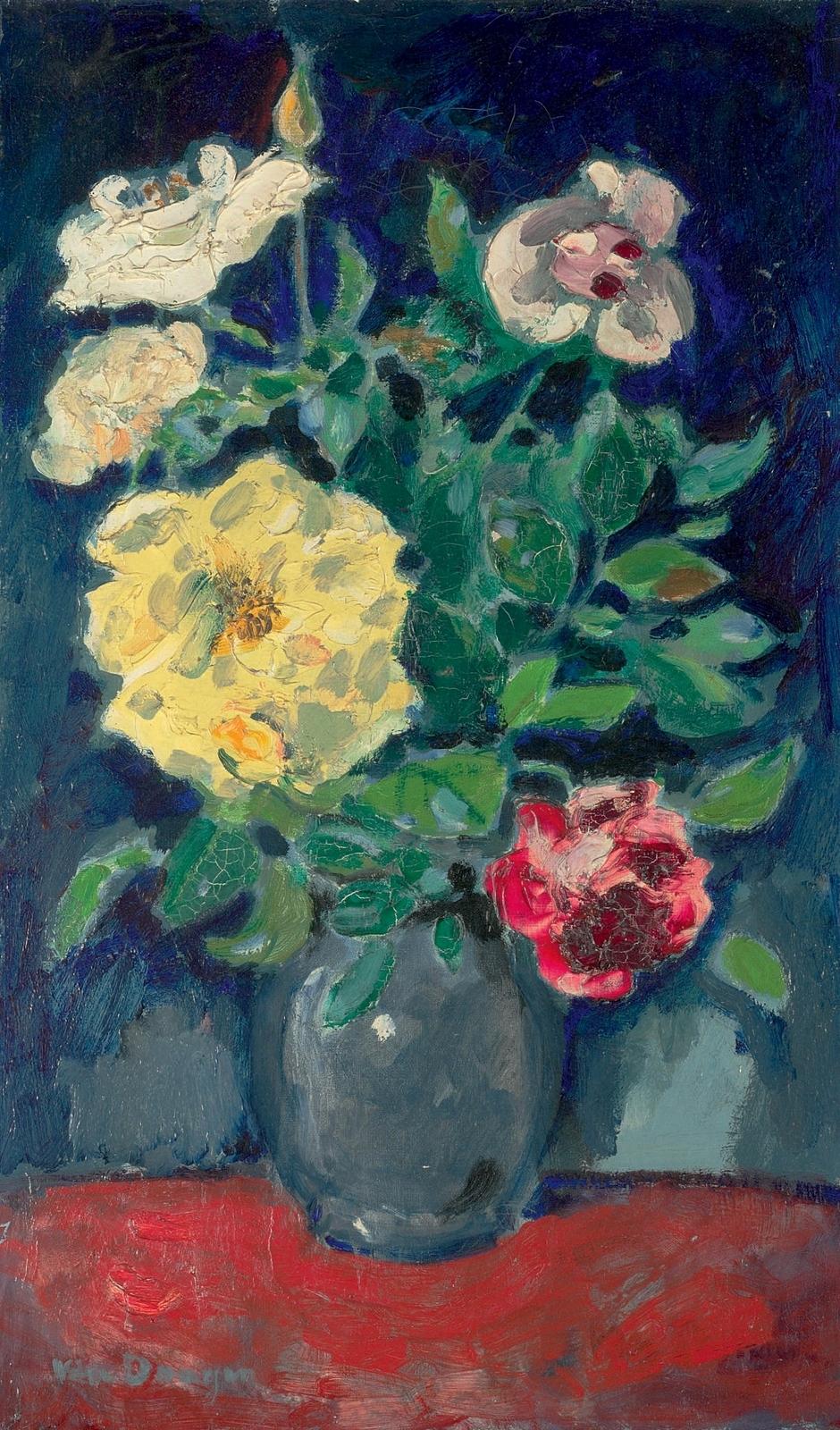 Картинки по запросу kees van dongen paintings bloemen