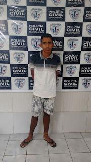 Supeito de diversos roubos, furtos e de um estupro de vulnerável é preso pela Polícia Civil em Brejo-MA