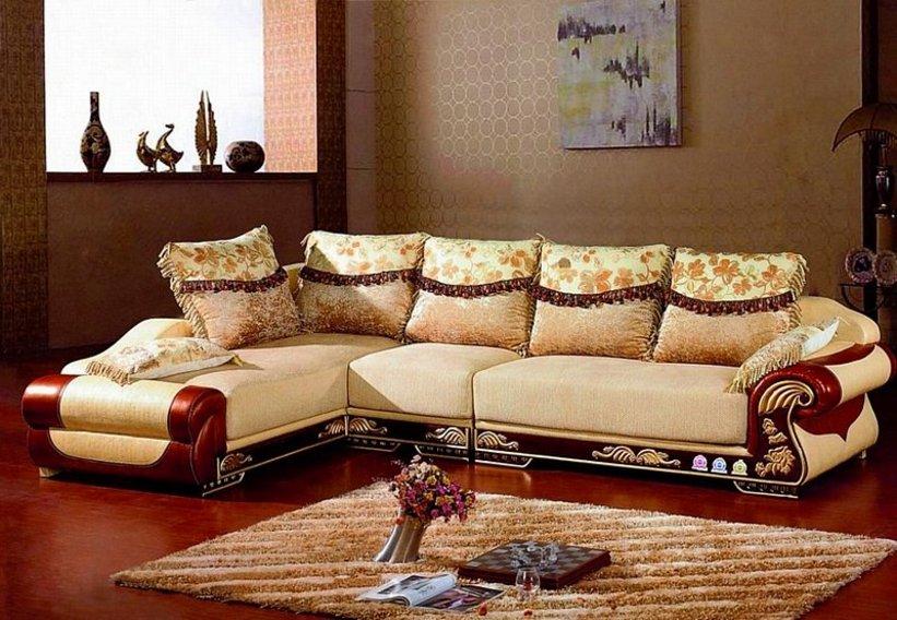 sofa ruang tamu bentuk l 4