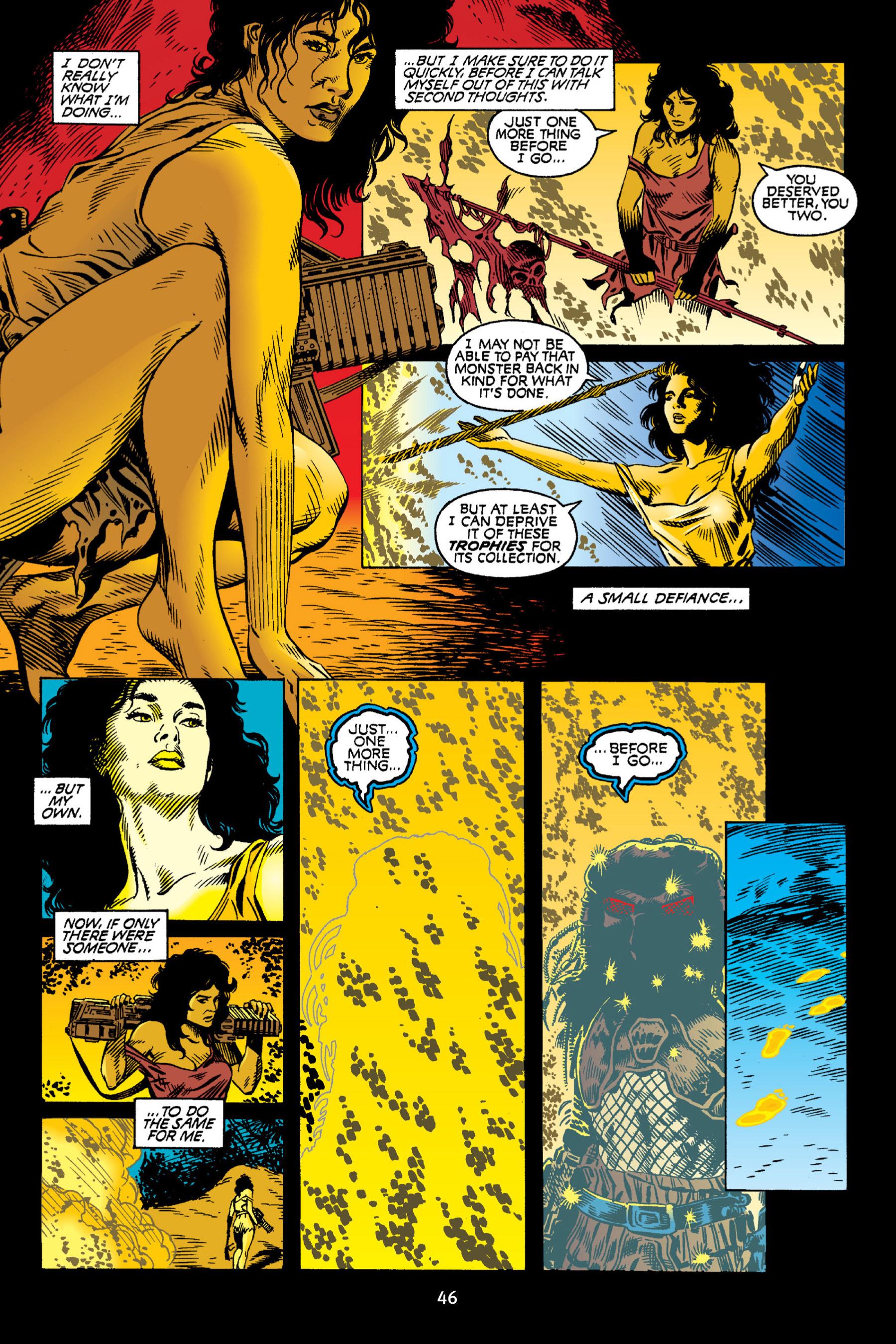 Read online Aliens vs. Predator Omnibus comic -  Issue # _TPB 2 Part 1 - 46