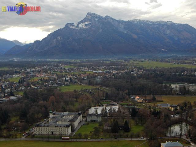 Vista de las montañas desde Hohensalzburg