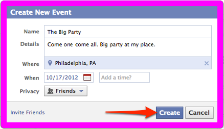 How To Invite All Friends On Facebook Event