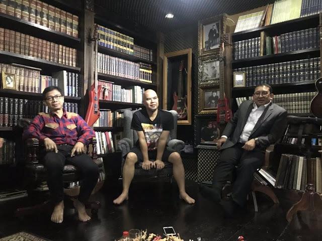 Dibantu Ahmad Dhani, Sang Alang Siapkan Lagu Baru 'Sontoloyo'