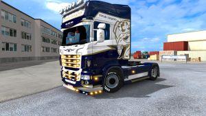 Skin Titan Legend for Scania RJL