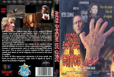 Cover, caratula, dvd: Ahora empiezan los gritos | 1973 | And Now the Screaming Starts!