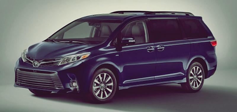 Toyota Sienna 2018 Interior Price Spec