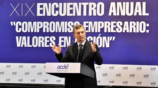Resultado de imagen de Macri con los empresarios de la construccion