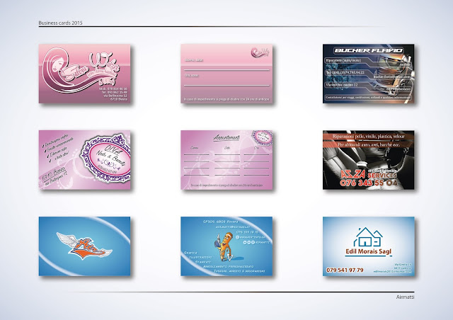 Business cards design 2015