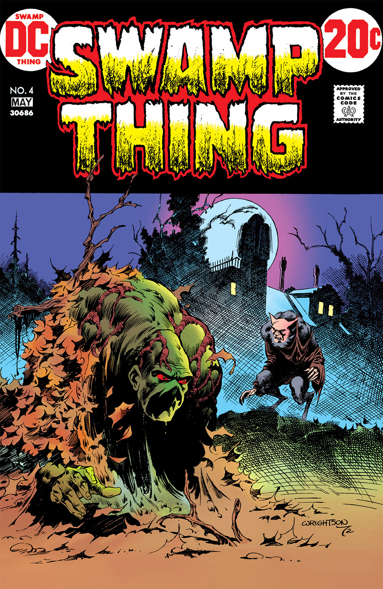 Swamp Thing (1972) Issue #4 #4 - English 1