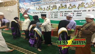 Yayasan Tahfidz Saijaan Wisuda 261 Santri